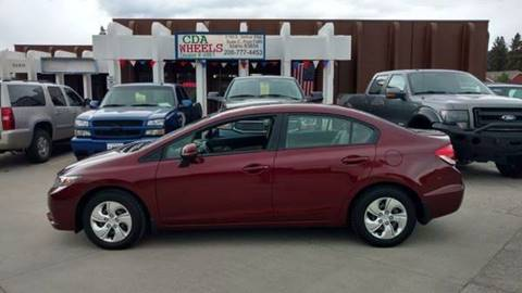 2013 Honda Civic for sale in Post Falls, ID