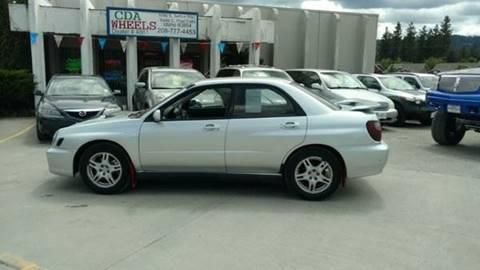 2002 Subaru Impreza for sale in Post Falls, ID
