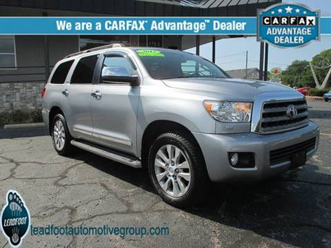 2012 Toyota Sequoia for sale in Holland, MI