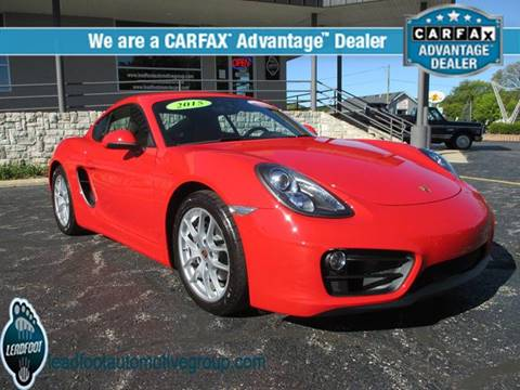 2015 Porsche Cayman for sale in Holland, MI
