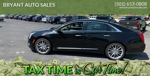 2014 Cadillac XTS for sale at BRYANT AUTO SALES in Bryant AR