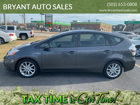 2012 Toyota Prius v for sale at BRYANT AUTO SALES in Bryant AR