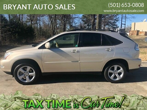 2006 Lexus RX 330 for sale at BRYANT AUTO SALES in Bryant AR