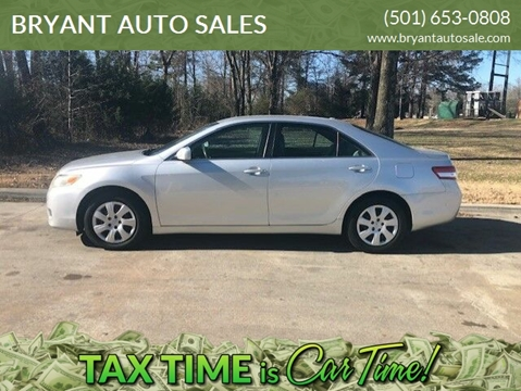2011 Toyota Camry for sale at BRYANT AUTO SALES in Bryant AR