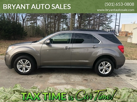 2011 Chevrolet Equinox LT for sale at BRYANT AUTO SALES in Bryant AR