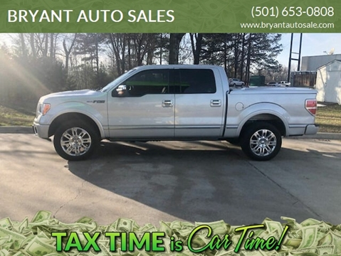 2009 Ford F-150 Platinum for sale at BRYANT AUTO SALES in Bryant AR