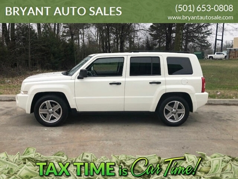 2008 Jeep Patriot Sport for sale at BRYANT AUTO SALES in Bryant AR