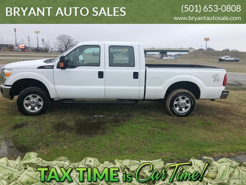2016 Ford F-250 Super Duty XLT for sale at BRYANT AUTO SALES in Bryant AR
