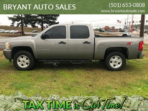 2007 Chevrolet Silverado 1500 for sale at BRYANT AUTO SALES in Bryant AR