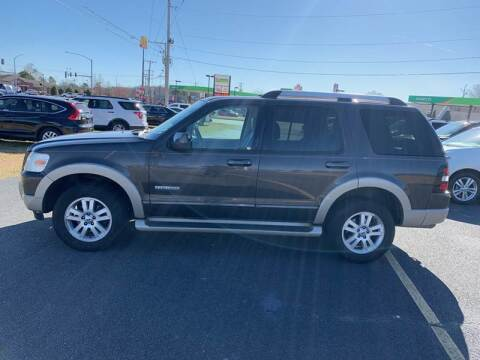 2007 Ford Explorer Eddie Bauer for sale at BRYANT AUTO SALES in Bryant AR