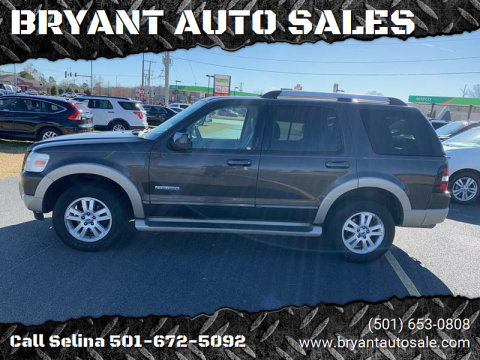 2007 Ford Explorer for sale at BRYANT AUTO SALES in Bryant AR