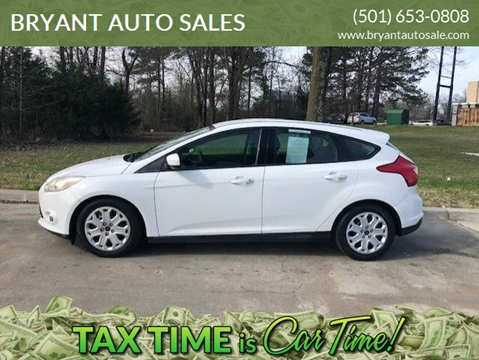 2012 Ford Focus SE for sale at BRYANT AUTO SALES in Bryant AR