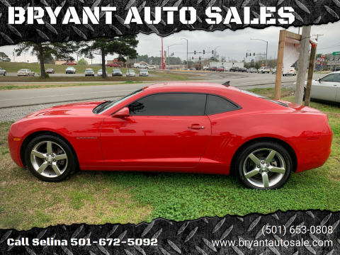 2011 Chevrolet Camaro for sale at BRYANT AUTO SALES in Bryant AR