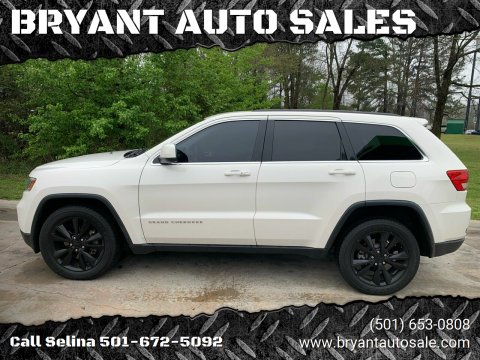 2012 Jeep Grand Cherokee for sale at BRYANT AUTO SALES in Bryant AR