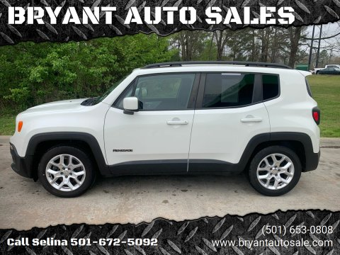 2015 Jeep Renegade for sale at BRYANT AUTO SALES in Bryant AR