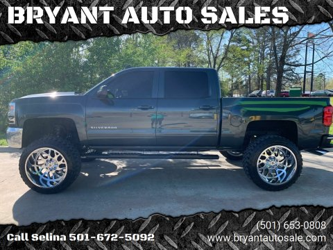 2017 Chevrolet Silverado 1500 for sale at BRYANT AUTO SALES in Bryant AR