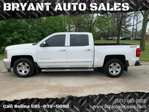 2014 Chevrolet Silverado 1500 for sale at BRYANT AUTO SALES in Bryant AR