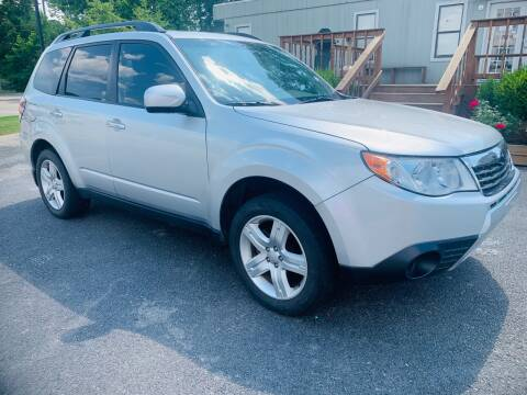 2009 Subaru Forester for sale at BRYANT AUTO SALES in Bryant AR