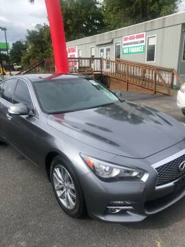 2016 Infiniti Q50 for sale at BRYANT AUTO SALES in Bryant AR