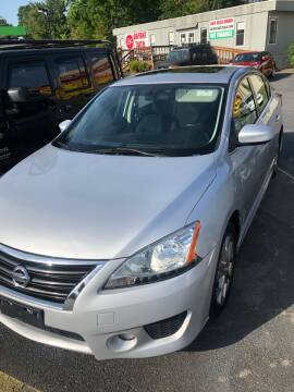 2013 Nissan Sentra for sale at BRYANT AUTO SALES in Bryant AR