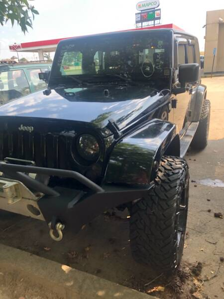2010 Jeep Wrangler Unlimited for sale at BRYANT AUTO SALES in Bryant AR