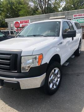 2010 Ford F-150 for sale at BRYANT AUTO SALES in Bryant AR