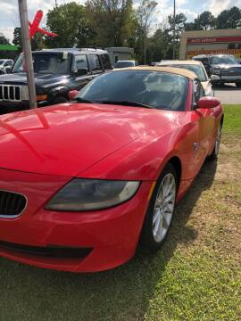 2006 BMW Z4 for sale at BRYANT AUTO SALES in Bryant AR