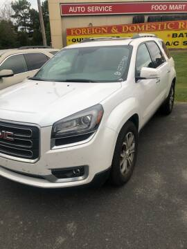 2016 GMC Acadia for sale at BRYANT AUTO SALES in Bryant AR