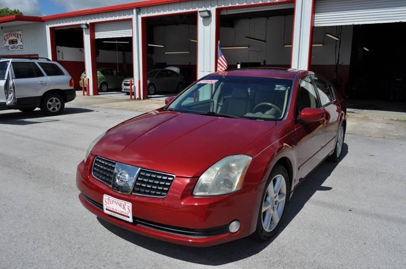 2004 Nissan Maxima 3.5 SE 4dr Sedan   Melbourne FL