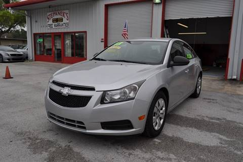 2013 Chevrolet Cruze for sale at STEPANEK'S AUTO SALES & SERVICE INC. in Vero Beach FL