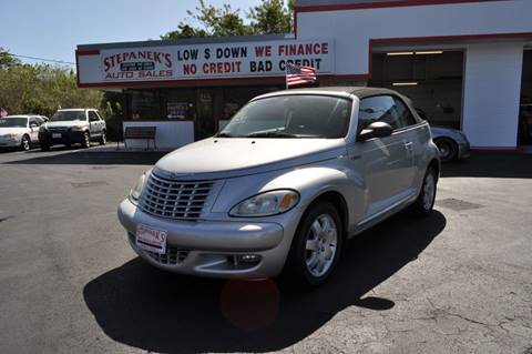 2005 Chrysler PT Cruiser for sale at STEPANEK'S AUTO SALES & SERVICE INC. in Vero Beach FL