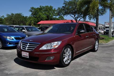 2010 Hyundai Genesis for sale at STEPANEK'S AUTO SALES & SERVICE INC. in Vero Beach FL