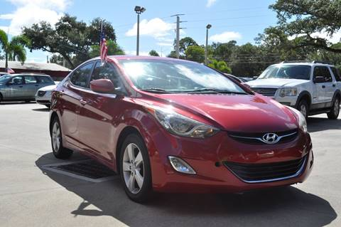 2012 Hyundai Elantra for sale at STEPANEK'S AUTO SALES & SERVICE INC. in Vero Beach FL