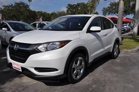 2016 Honda HR-V for sale at STEPANEK'S AUTO SALES & SERVICE INC. in Vero Beach FL