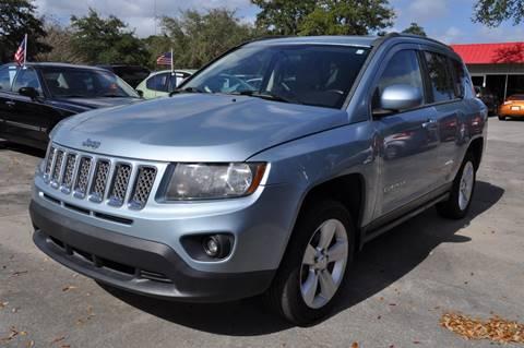 2014 Jeep Compass for sale at STEPANEK'S AUTO SALES & SERVICE INC. in Vero Beach FL