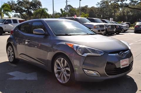 2012 Hyundai Veloster for sale at STEPANEK'S AUTO SALES & SERVICE INC. in Vero Beach FL