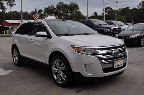 2013 Ford Edge for sale at STEPANEK'S AUTO SALES & SERVICE INC. in Vero Beach FL