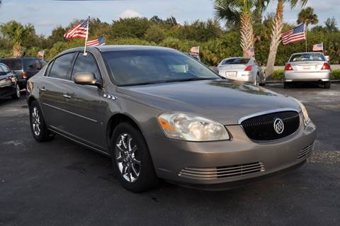 2007 Buick Lucerne for sale at STEPANEK'S AUTO SALES & SERVICE INC. in Vero Beach FL