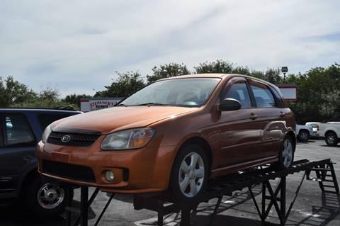 2007 Kia Spectra for sale at STEPANEK'S AUTO SALES & SERVICE INC. in Vero Beach FL