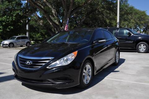 2014 Hyundai Sonata for sale at STEPANEK'S AUTO SALES & SERVICE INC. in Vero Beach FL