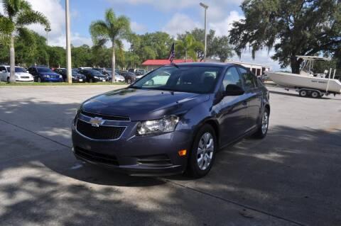 2014 Chevrolet Cruze for sale at STEPANEK'S AUTO SALES & SERVICE INC. in Vero Beach FL