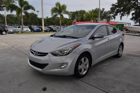 2013 Hyundai Elantra for sale at STEPANEK'S AUTO SALES & SERVICE INC. in Vero Beach FL