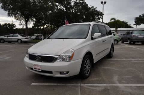 2012 Kia Sedona for sale at STEPANEK'S AUTO SALES & SERVICE INC. in Vero Beach FL