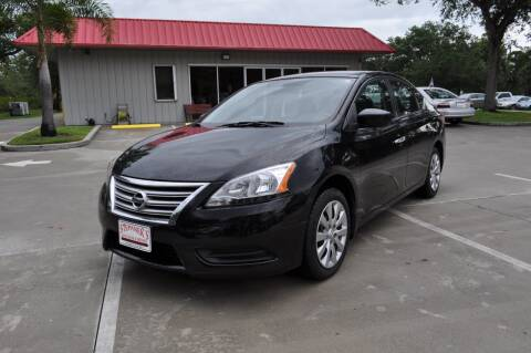 2013 Nissan Sentra for sale at STEPANEK'S AUTO SALES & SERVICE INC. in Vero Beach FL
