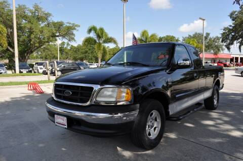 2002 Ford F-150 for sale at STEPANEK'S AUTO SALES & SERVICE INC. in Vero Beach FL