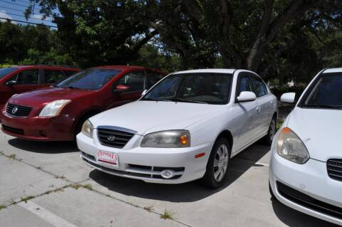 2005 Hyundai Elantra for sale at STEPANEK'S AUTO SALES & SERVICE INC. in Vero Beach FL