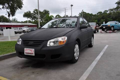 2007 Kia Spectra for sale at STEPANEK'S AUTO SALES & SERVICE INC. - 4215 US Highway 1 in Vero Beach FL