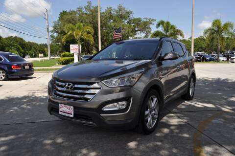 2013 Hyundai Santa Fe Sport for sale at STEPANEK'S AUTO SALES & SERVICE INC. in Vero Beach FL