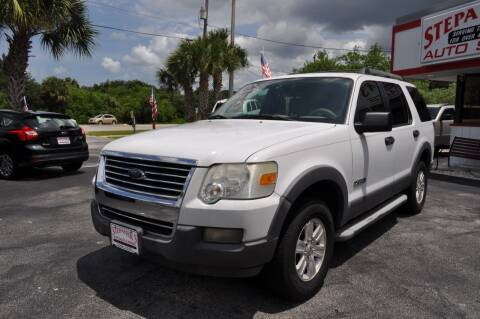 2006 Ford Explorer for sale at STEPANEK'S AUTO SALES & SERVICE INC. - 4215 US Highway 1 in Vero Beach FL