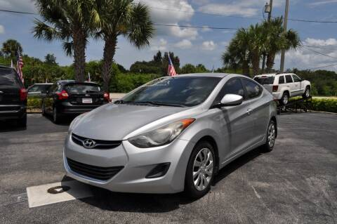 2013 Hyundai Elantra for sale at STEPANEK'S AUTO SALES & SERVICE INC. - 4215 US Highway 1 in Vero Beach FL